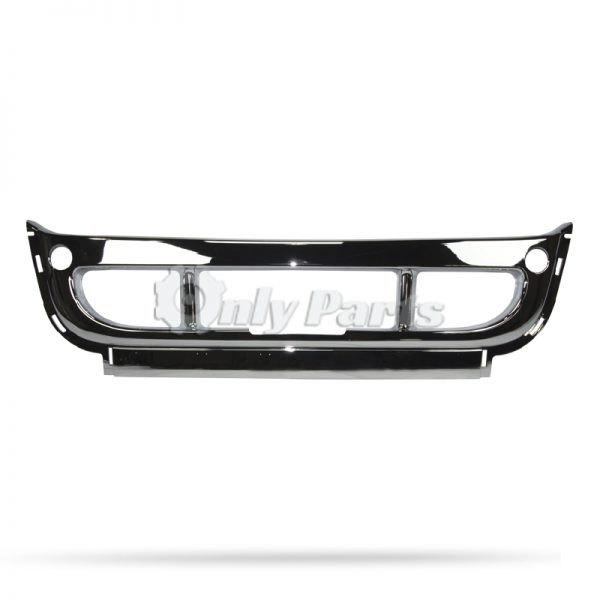 Freightliner Cascadia Chrome Middle Front Bumper Cover
